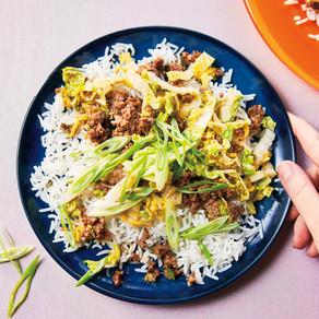 Sticky Korean Beef