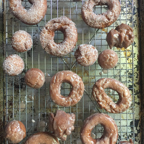 Old-Fashioned Glazed Doughnuts