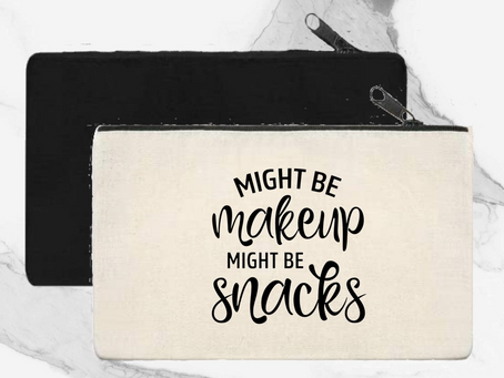 Throw It In Your Bag: Might Be Makeup, Might Be Snacks