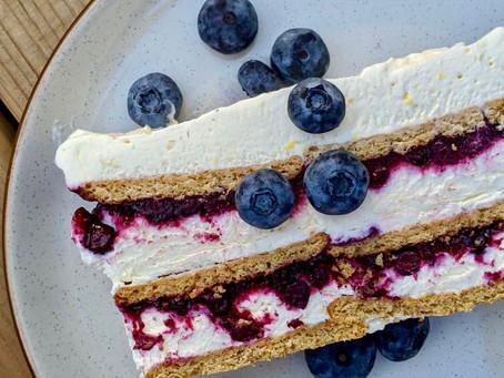 The No-Bake: Blueberry-Lemon Icebox Cake