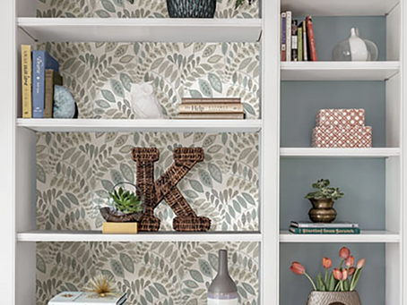 Decor: Four Weekend Wallpaper Projects to Try  ASAP