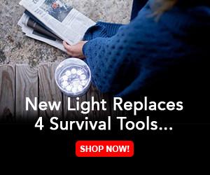 LED Sun Powered Lantern