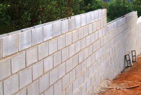 Como fazer um muro com Blocos de Concreto?