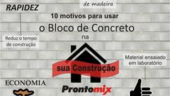 Top 10 motivos para usar o bloco de concreto na sua construção