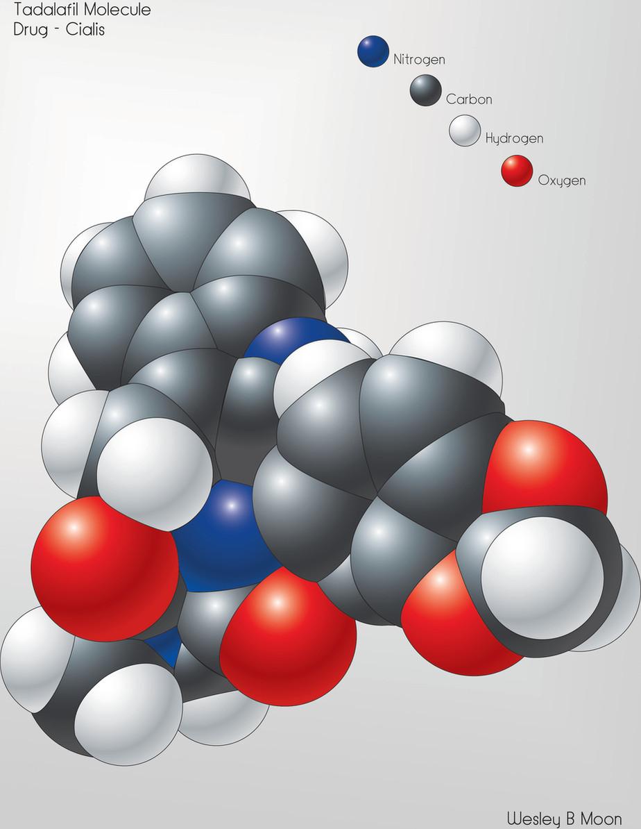 Tadalafil molecule Cialis.jpg