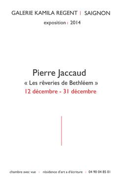 Pierre Jaccaud |Galerie Regent