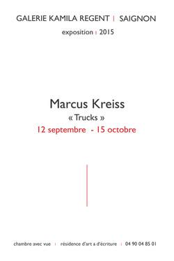 Marcus Kreiss |Galerie Kamila Regent