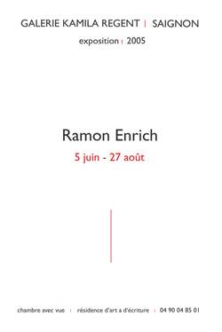 Ramon Enrich | Galerie Kamila Regent