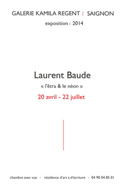 Laurent Baude |Galerie Kamila Regent