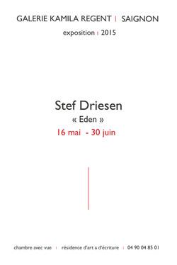 Stef Driesen | Galerie Kamila Regent