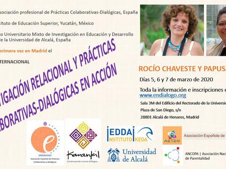 Rocío Chaveste y Papusa Molina en Madrid
