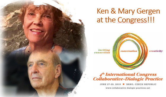 Kenneth J. Gergen & Mary Gergen will be with us at the Congress
