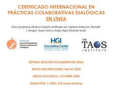 ¡Abiertas inscripciones al Certificado Internacional en PCD!