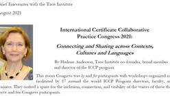 Harlene Anderson's words after the ICCP2021 CongressPalabras de Harlene Anderson después del Congr
