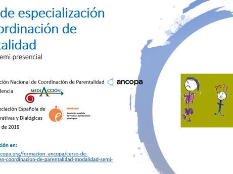 """ENDIÁLOGO colaboramos con el """"Curso de Especialización en Coordinación de Parentalidad"""", m"""