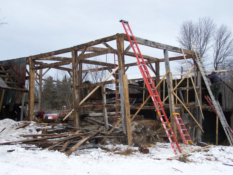 The Hero Barn-Gunstock Timber Frame