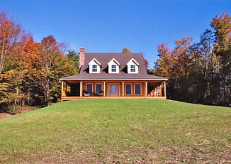 restored barn style home in Vermont