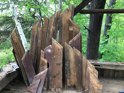 reclaimed wood side boards from 1800