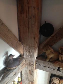 Gunstock detail restored barn home
