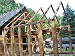 Chestnut Timbered Corn Crib