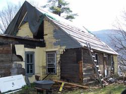 Hand Hewn Timber Log Home