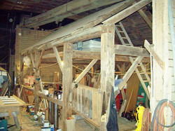 5-Sided Ridge Beam Carriage Barn