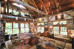 Restored barn home - interior