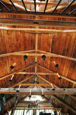 1780s timber frame ceiling