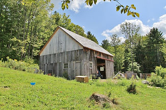 historic barn restored by Green Mountain Timber Frames
