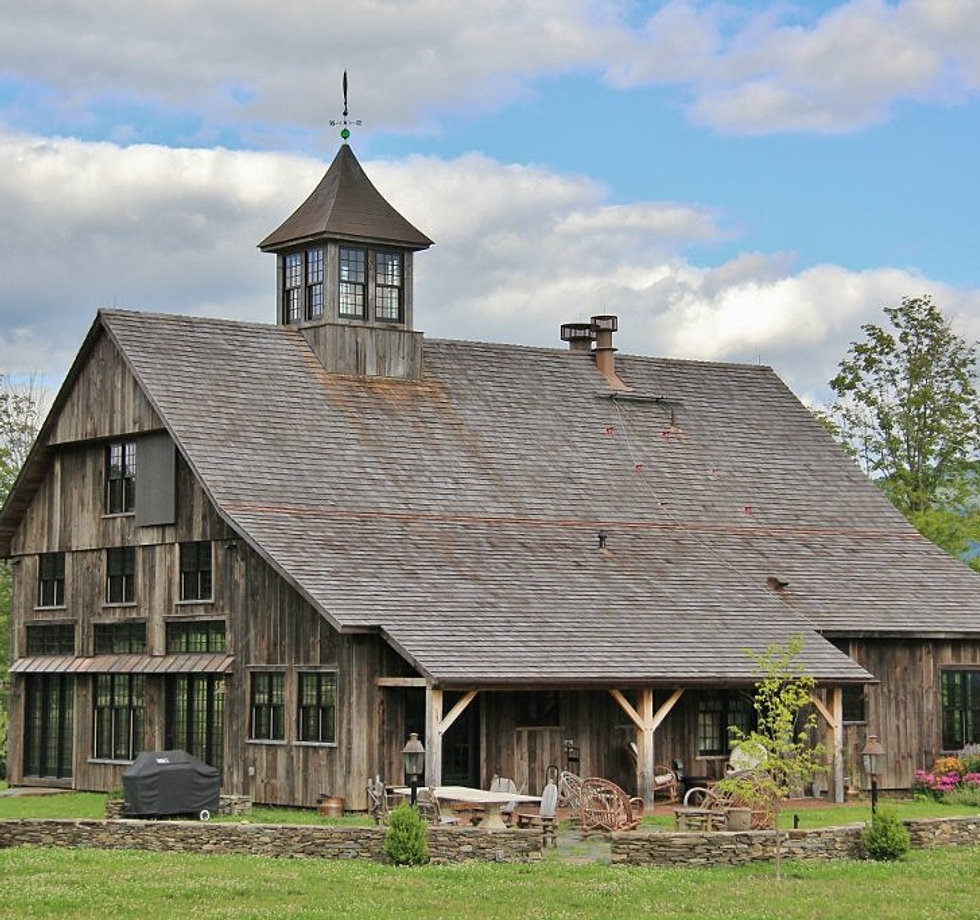 Restored Barn Style Home In Manchester, Vermont
