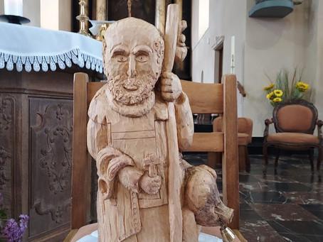 Les Remuages de saint Monon, à la collégiale de Nassogne, particuliers ce 16 mai 2021 !