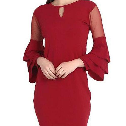 Ruffled Designer Dresses