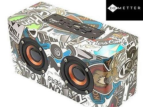 DeMetter Wireless Extra Bass Portable Waterproof Speaker