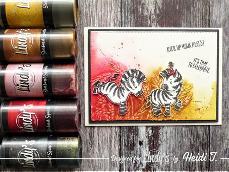 A Cute Zebra Card