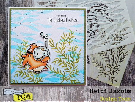 A Fishy Birthday Card Project
