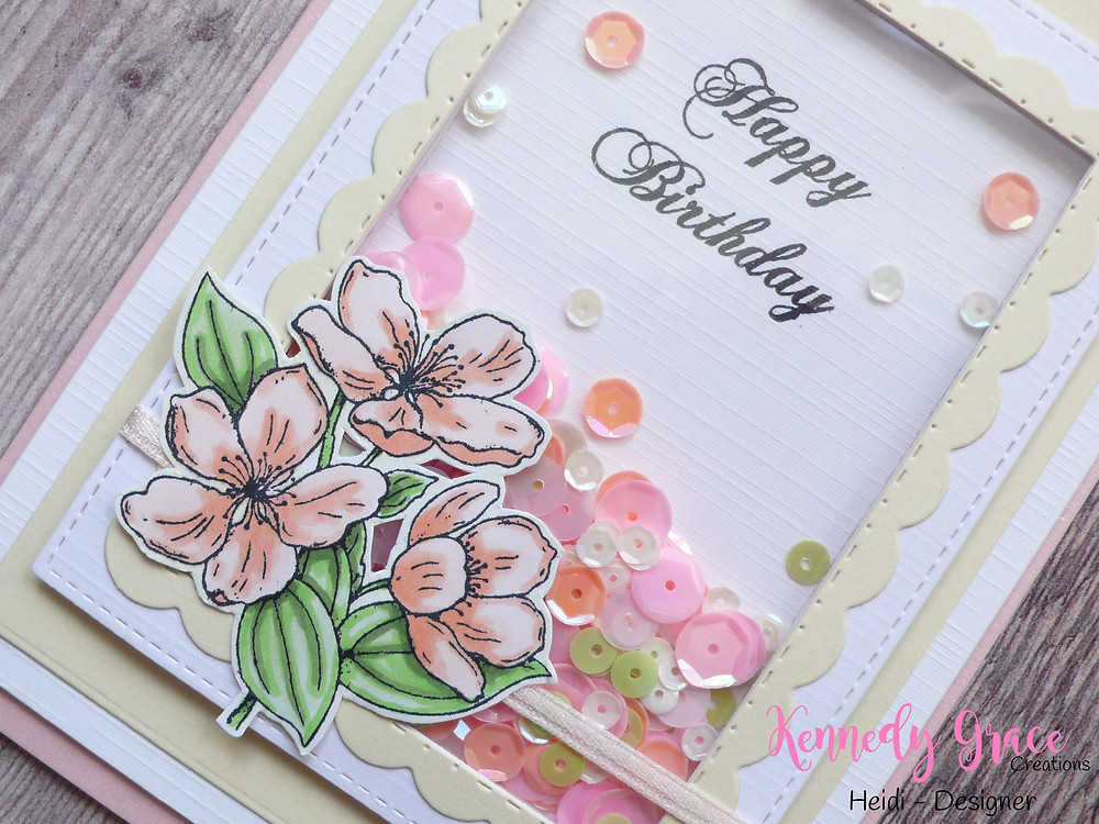 Kennedy Grace Creations Grace's Little Note Rainbow Sherbet