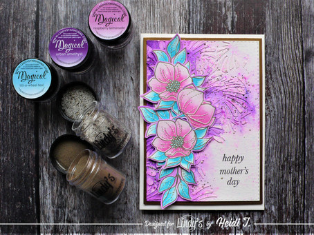 Lindy's Stamp Gang April Color Challenge