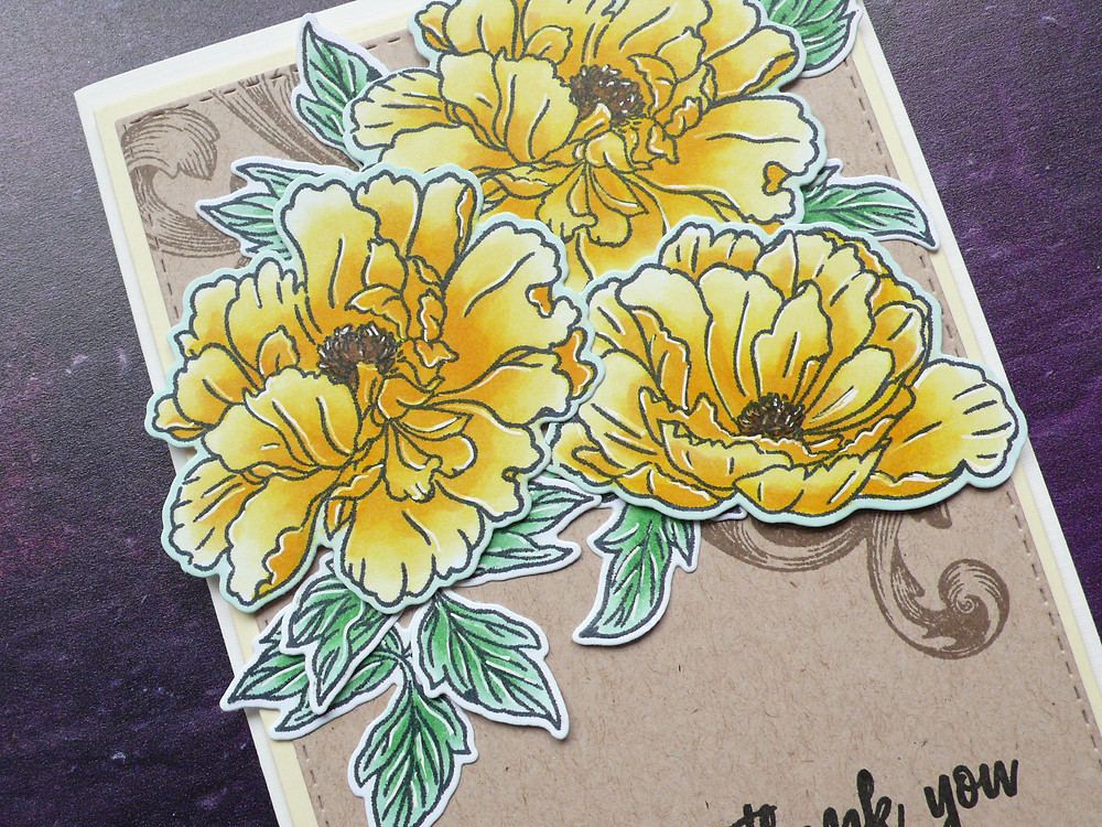 Altenew Beautiful Peony stamp set