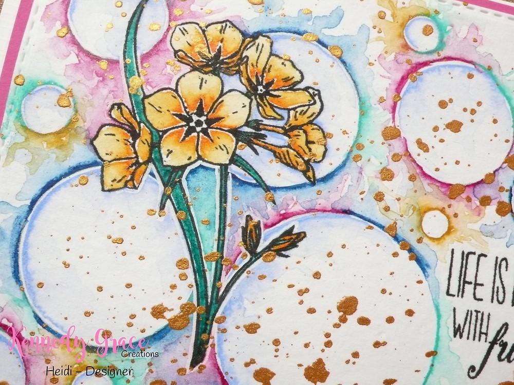 Kennedy Grace Creations Grace's Little Note Kennedy Grace Creations Sunflower