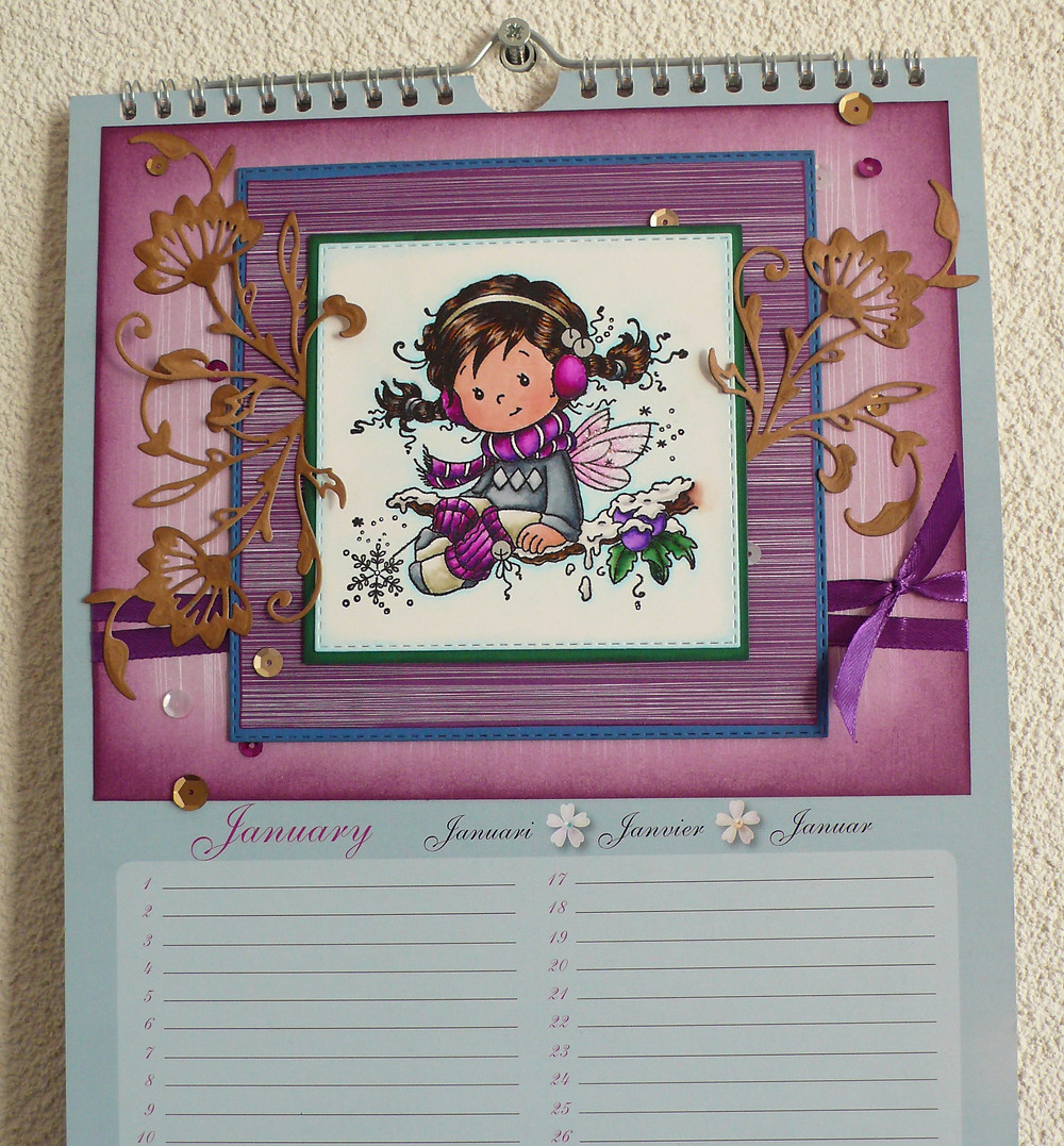Whimsy Stamps Holly