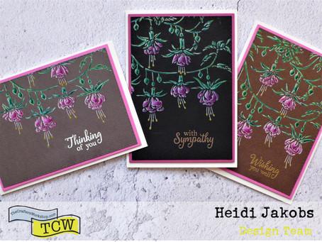 Fuchsia Greeting Cards