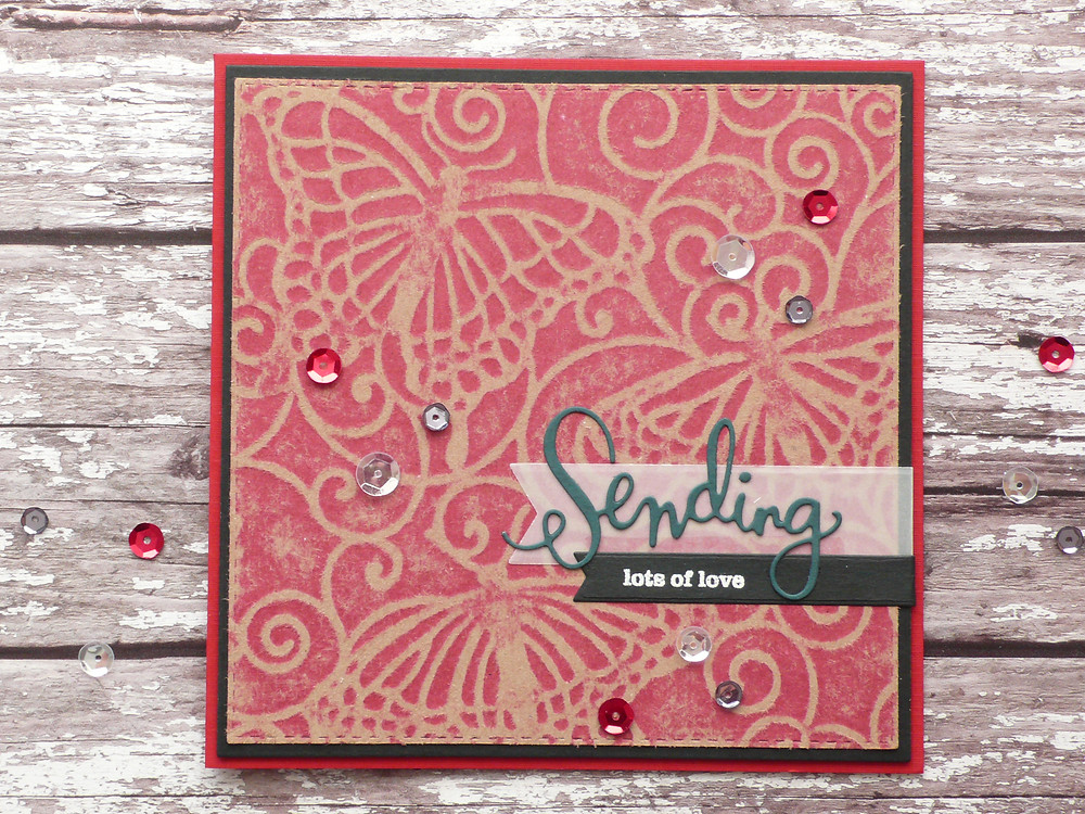 The Crafter's Workshop stencil TCW206