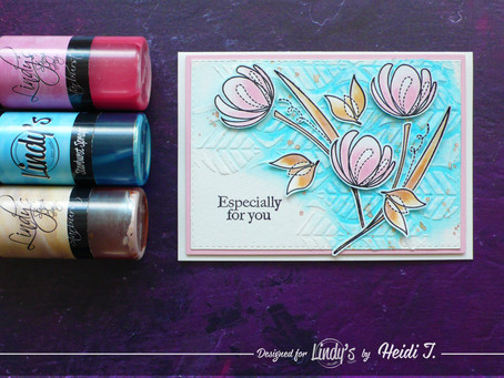 LSG August Color Challenge Card Project