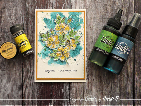 Lindy's Stamp Gang March Color Challenge