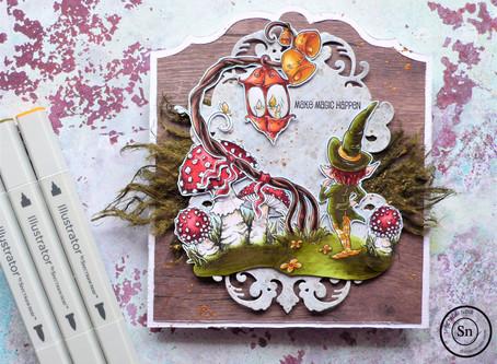 "#HVHerfstchallenge2020 Challenge 1 (Autumnchallenge: week 1): ""mushrooms and moss"""