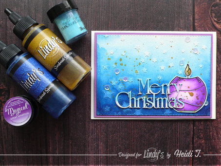 Lindy's Stamp Gang December Color Challenge