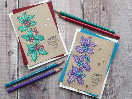 Hollyberry Christmas Cards