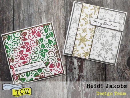 Sparkly Christmas Cards
