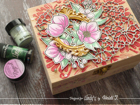 Decorated Jewellery Box