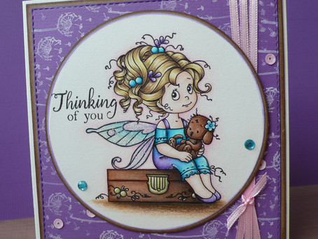 "Whimsy Stamps new release February 2017: ""Hope"""